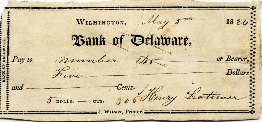 1824 May 5 Henry Latimer Jr to slave #145
