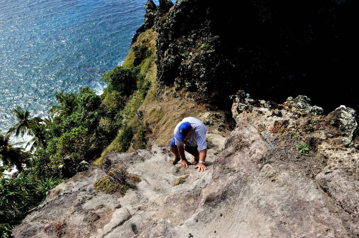 Climbing back up from The Gods