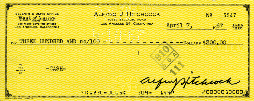 1967 April 7 Alfred Hitchcock