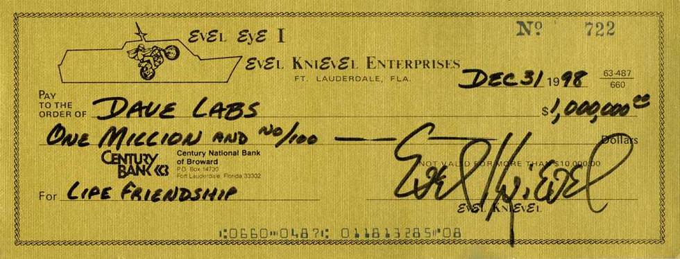 1998 Dec 31 Evel Knievel