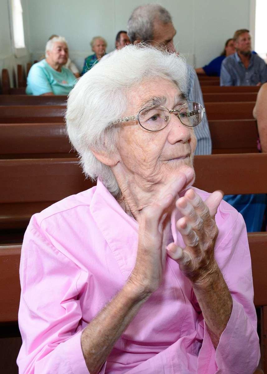 Irma Christian in Church