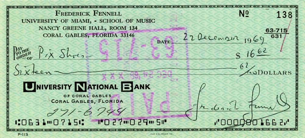 1969 Dec 22Frederick Fennell
