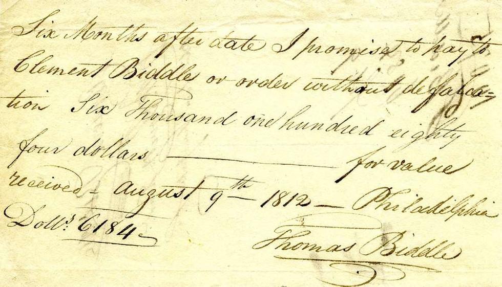1812 Aug 9, Major Biddle