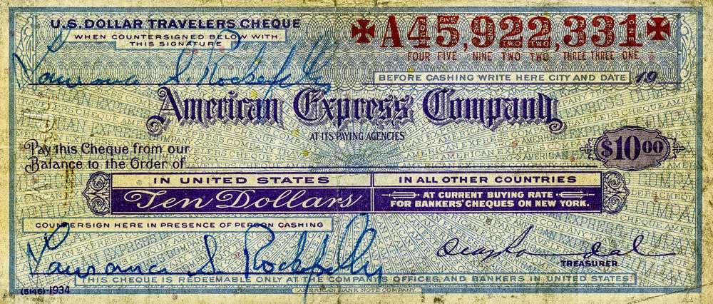 1934, Laurance Rockefeller