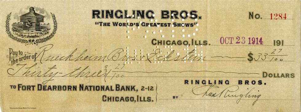 1914 Oct 23 Charles Edward Ringling