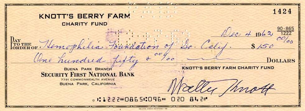 1962 Dec 4, Walter Knott