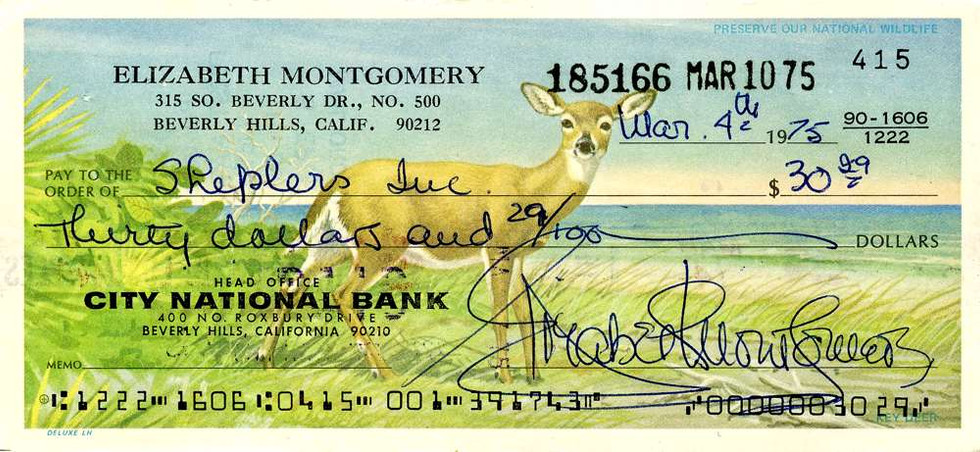 1975 March 4 Elizabeth Montgomery