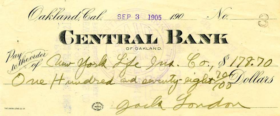 1905 Sept 3, Jack London
