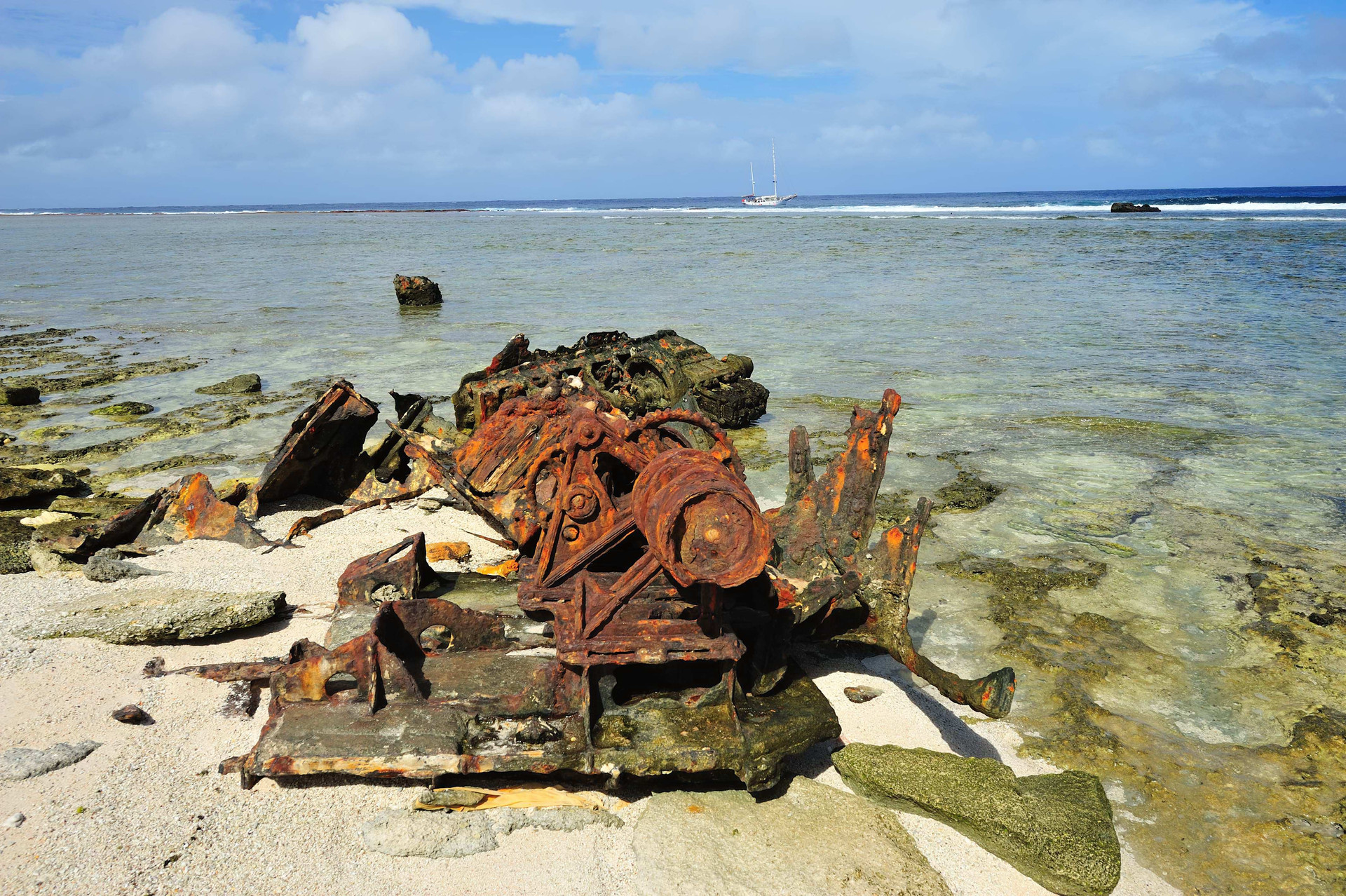 Remains of another wreck
