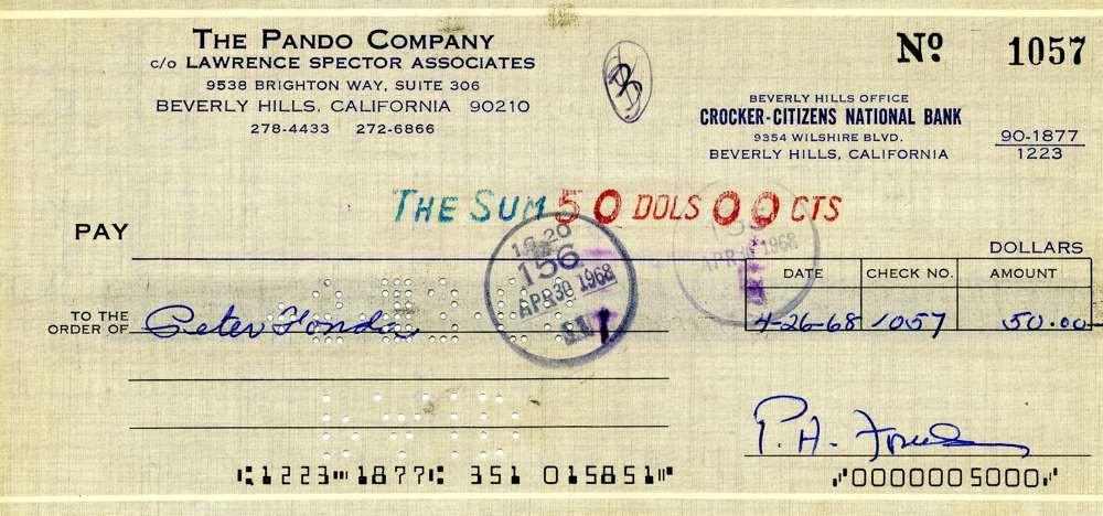 1968 April 26, Peter Fonda