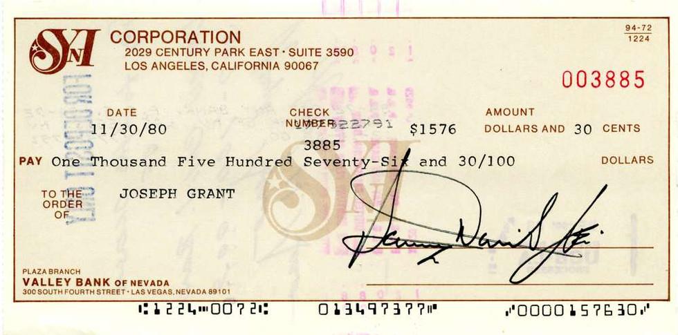 1980 Nov 30 Sammy Davis Jr