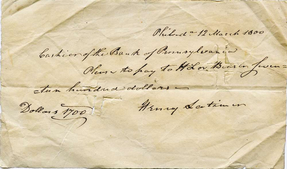 1800 March 12 Senator Henry Latimer