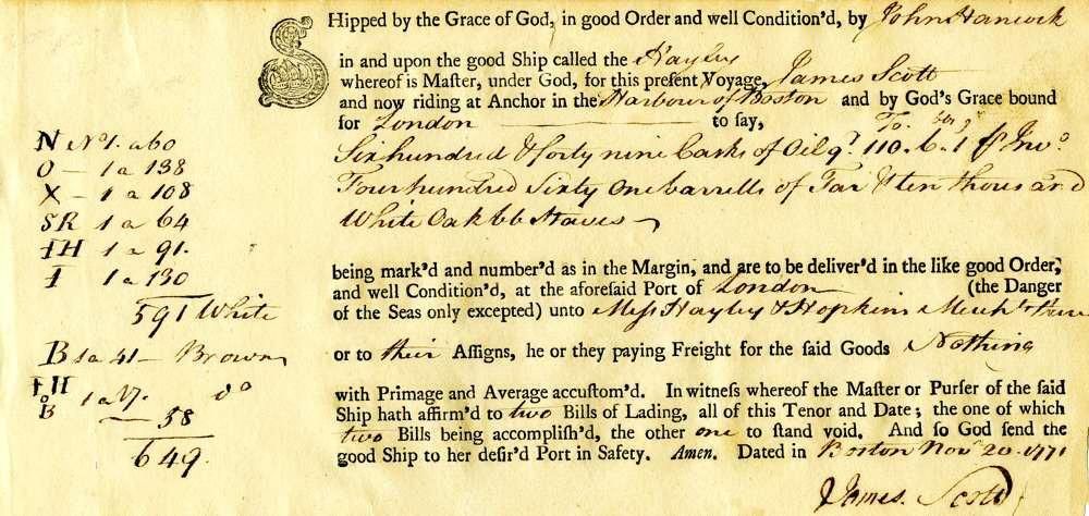 1771 Nov 20, John Hancock