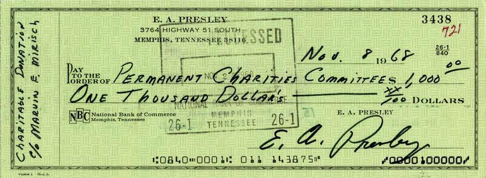1968 Nov 8 Elvis Presley
