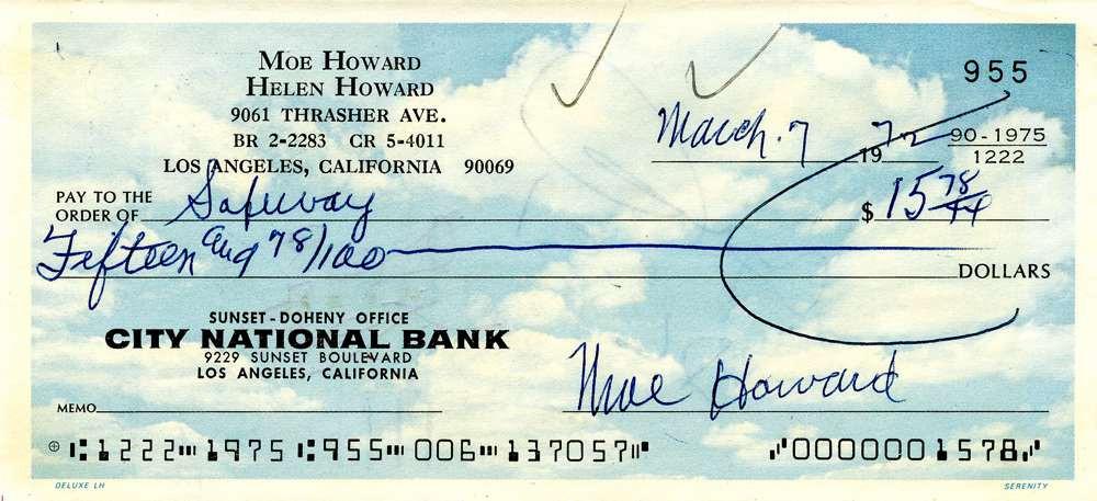 1972 March 7 Moe Howard