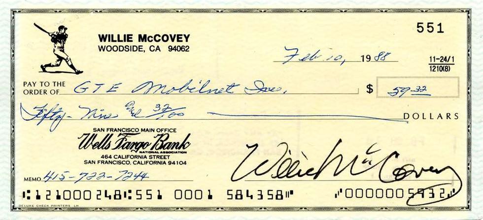 1988 Feb 10, Willie McCovey