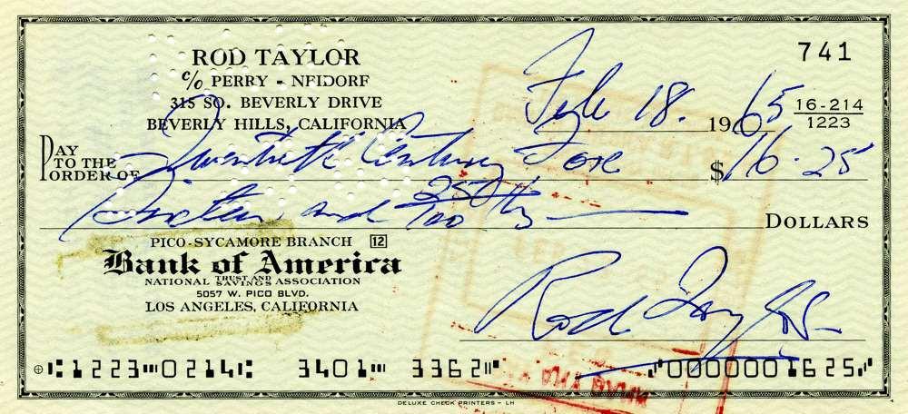 1965 Feb 18, Rod Taylor
