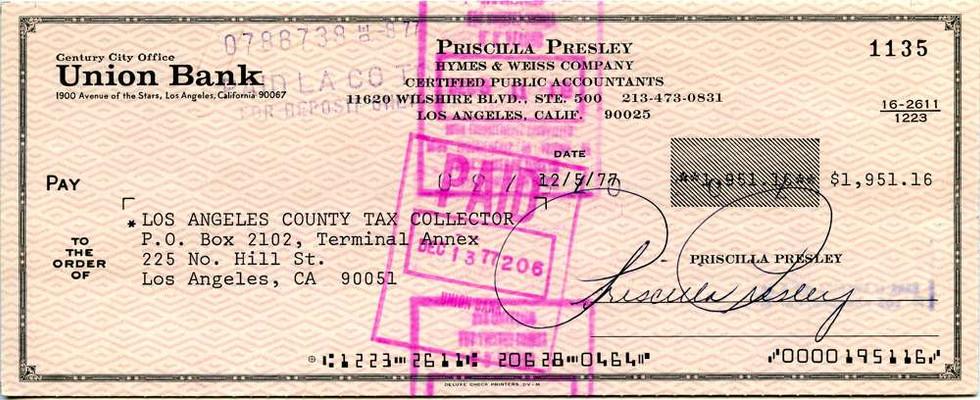 1977 Dec 5 Priscilla Presley