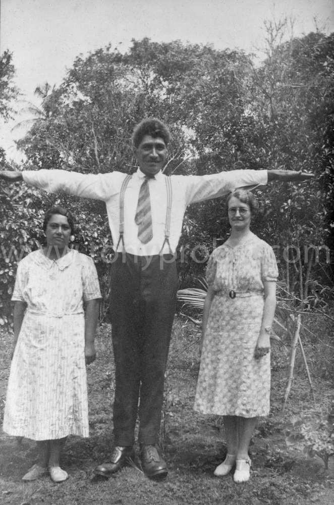 1936 Flora, Fred Christian & Myrtle Ward
