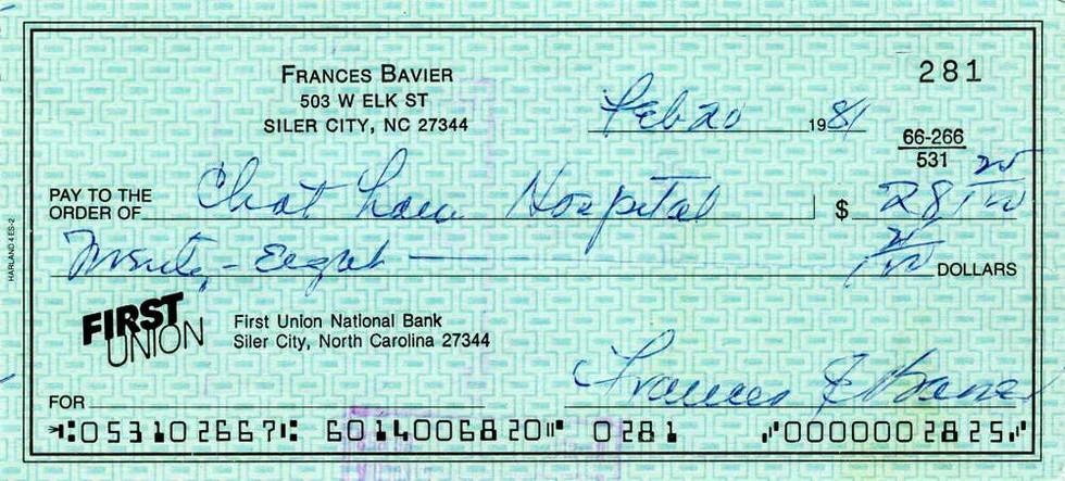 1981 Feb 20 Frances Bavier (Aunt Bee)