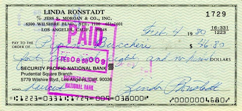 1980 Feb 4, Linda Ronstadt
