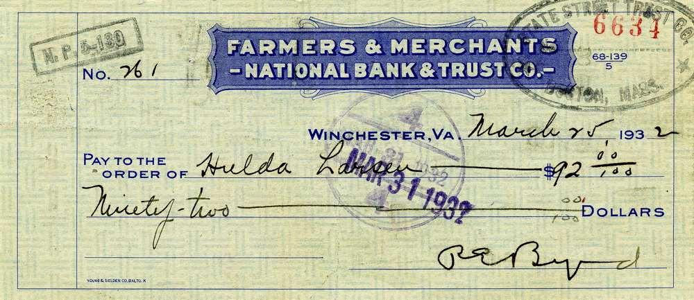 1932 March 25, Admiral Byrd