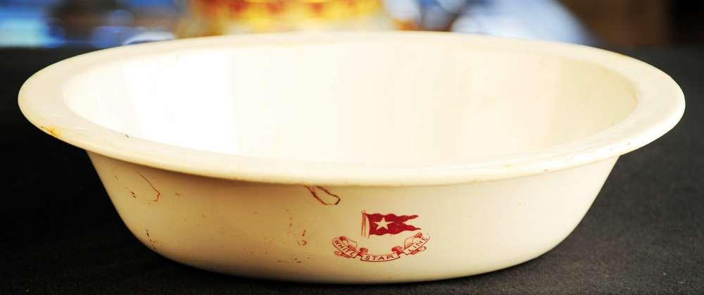 Third class soup bowl.