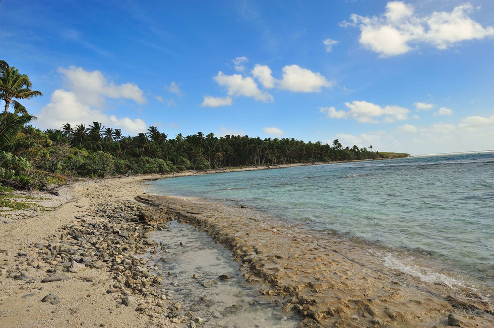 The east coast of Anchorage island