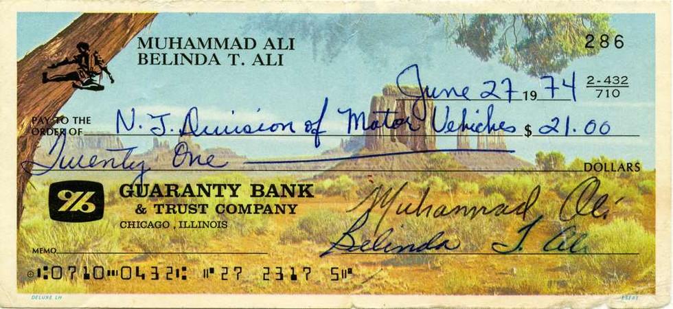 1974 June 27 Muhammad & Belinda Ali
