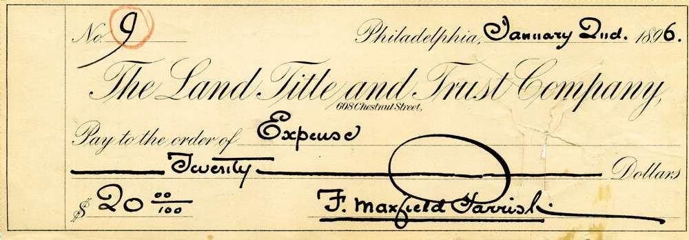 1896 Jan 2 Maxfield Parish