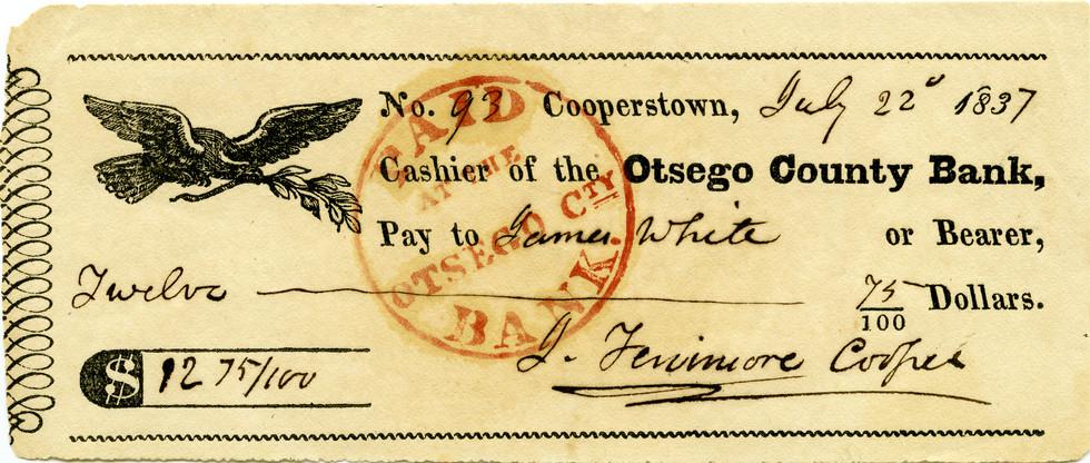 1837 July 22 James Fenimore Cooper