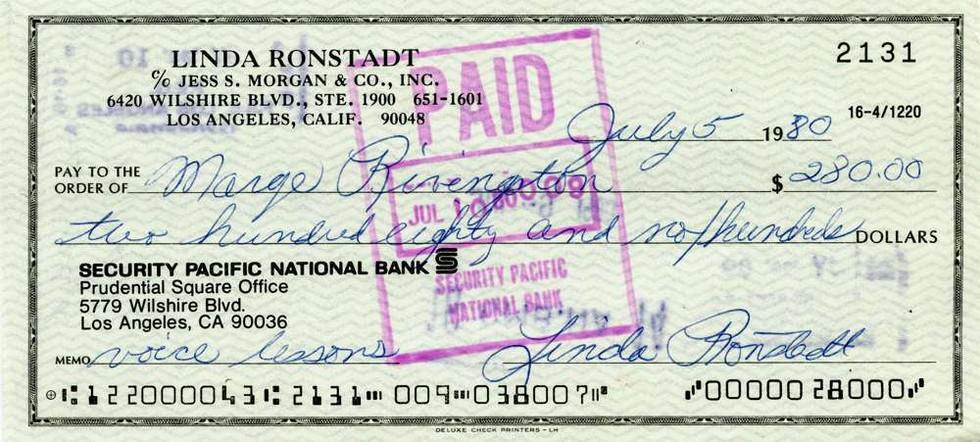 1980 July 5 Linda Ronstadt