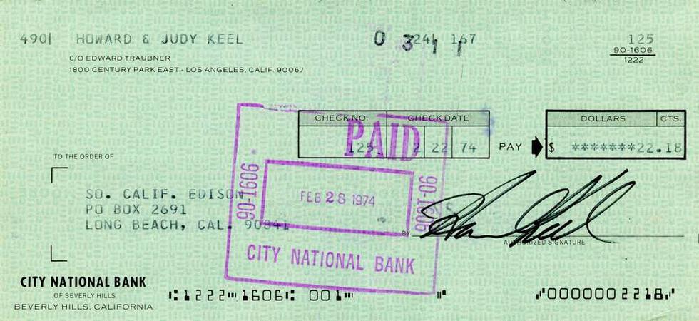 1974 Feb 22, Howard Keel