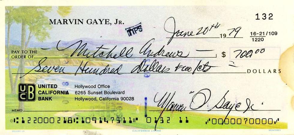1979 June 20, Marvin Gaye