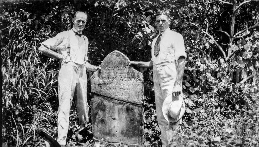 1938 Pastor Alfred Judge and Fred Ward