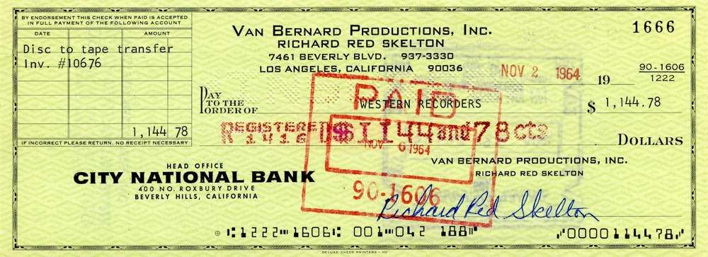 1964 Nov 2, Red Skelton