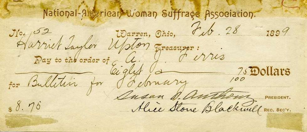 1899 Feb 28 Susan B Anthony