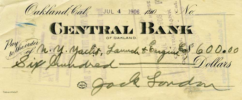 1906 July 4 Jack London