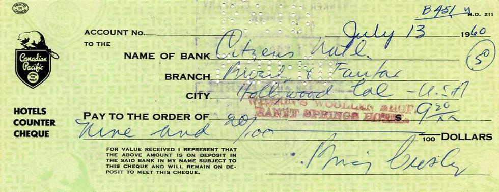 1969 July 13, Bing Crosby