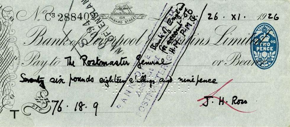 1926 Jan 26 John Ross Lawrence of Arabia