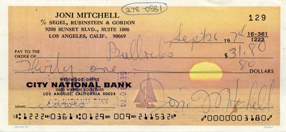 1974 Sept 26 Joni Mitchell
