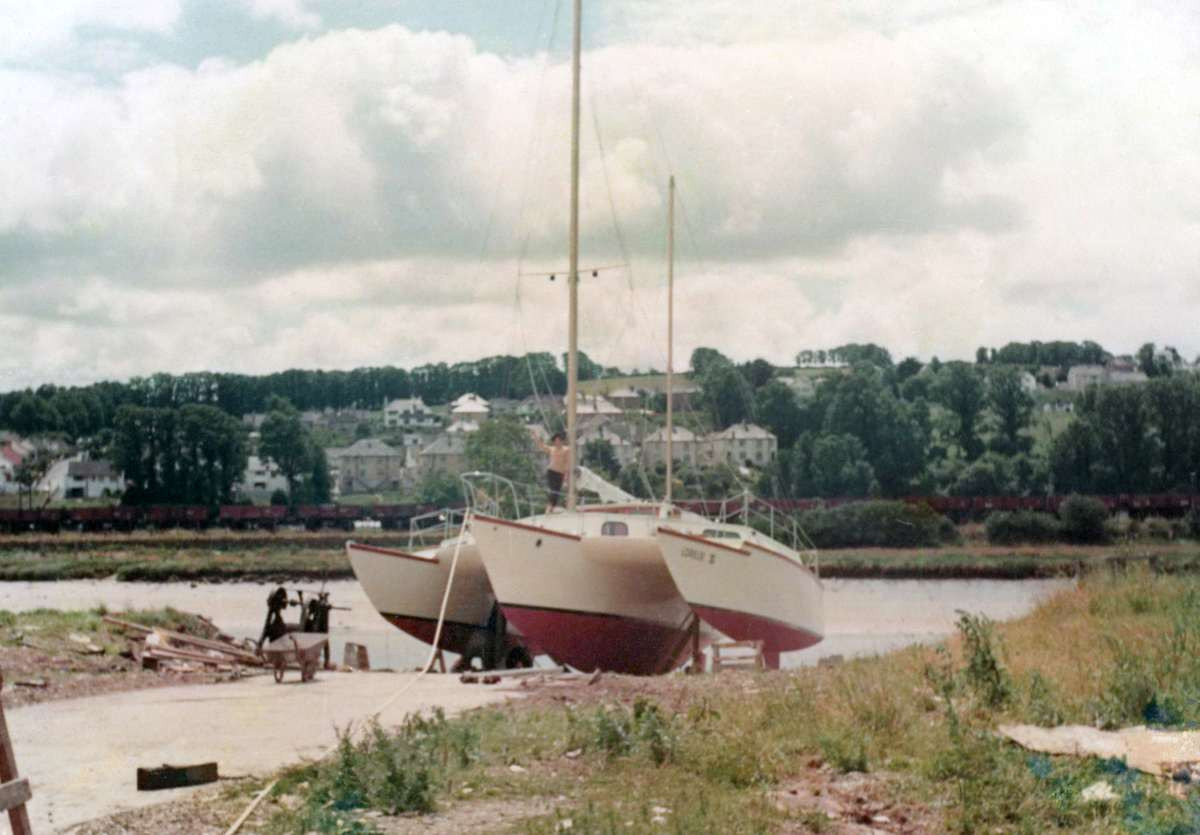 Lorelei III on launch day on July 17 1967