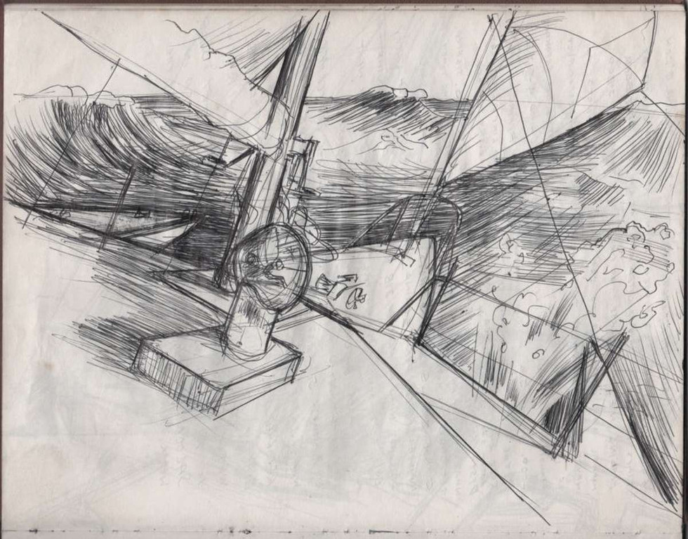 Another sketch by Bill Cadenhead
