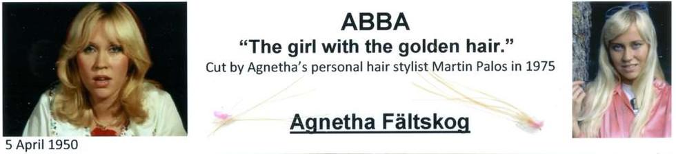 1975 Abba Agnetha Faltskog hair