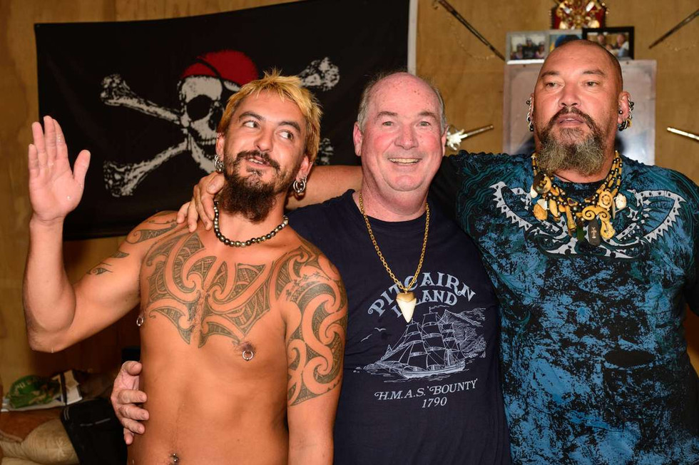 Andrew Christian, Tony Probst, Pawl Warren