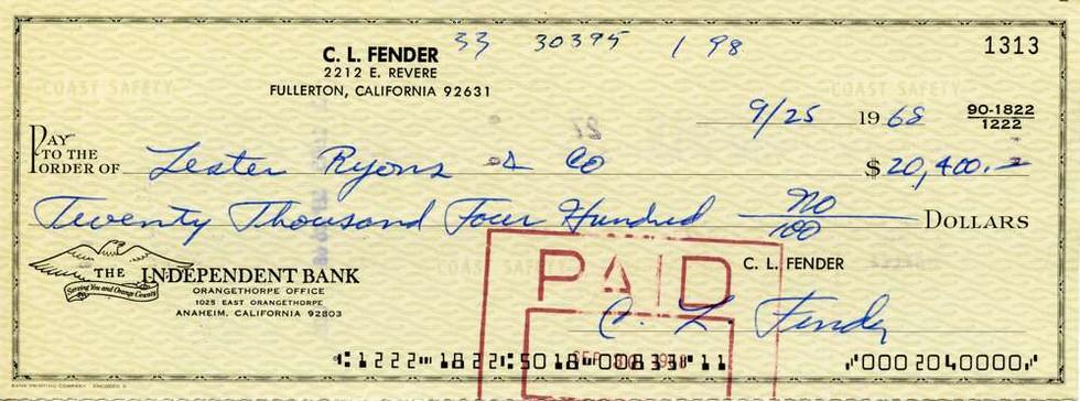 1968 Sept 25 Leo Fender