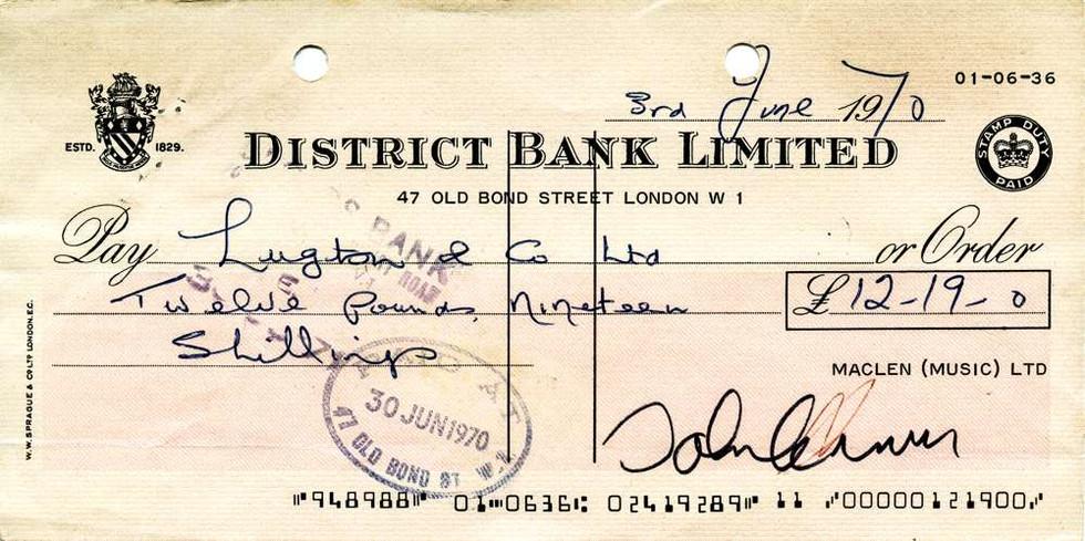 1970 June 3 John Lennon