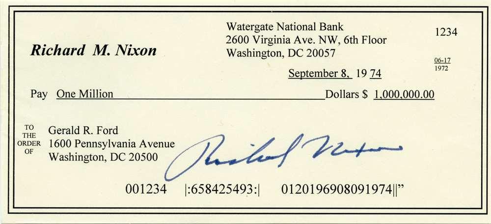 1974 Sept 8 Richard Nixon