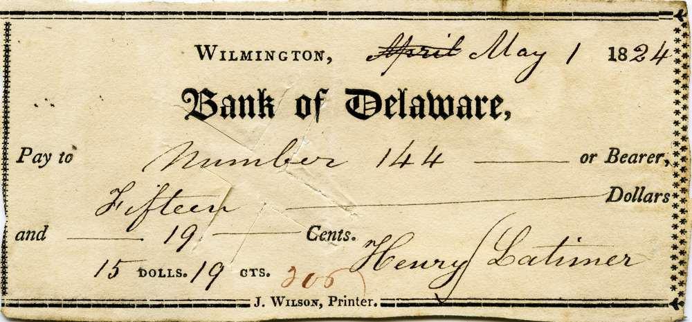 1824 May 1 Henry Latimer Jr to slave #144