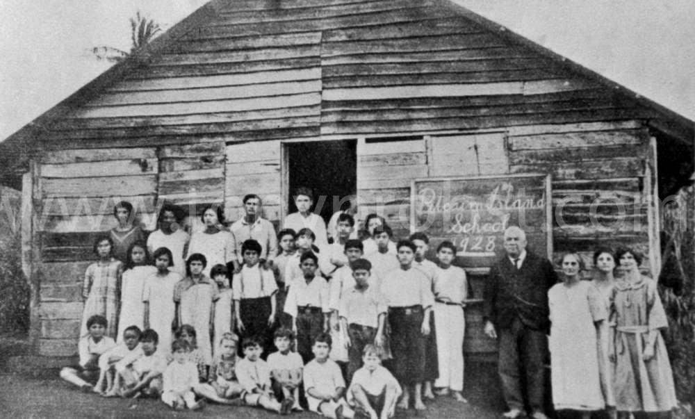 1928 School house Teacher Luther Hare